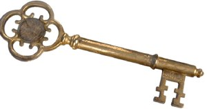 antique key 13